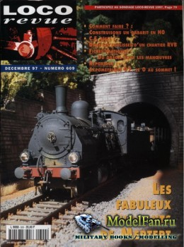 Loco-Revue №609 (December 1997)