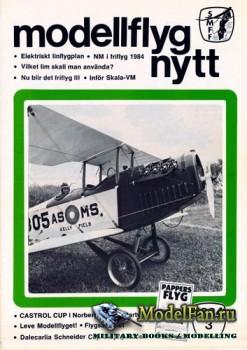 ModellFlyg Nytt №3 (1984)