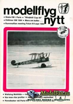 ModellFlyg Nytt №4 (1984)