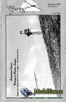 Radio Controlled Soaring Digest Vol.11 No.1 (January 1994)