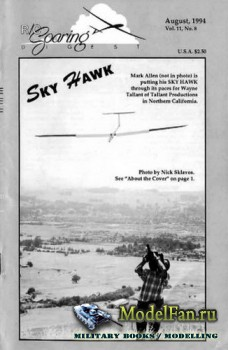 Radio Controlled Soaring Digest Vol.11 No.8 (August 1994)