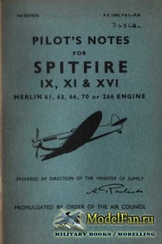 Pilot's Notes for Seafire