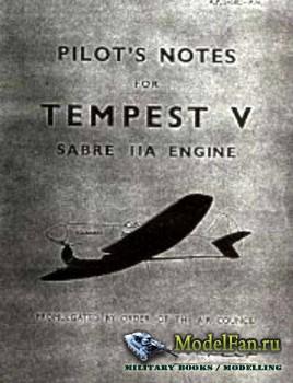 Pilot's Notes for Tempest V