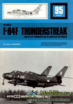 Warpaint Aviation News №1 - Republic F-84F Thunderstreak