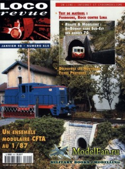 Loco-Revue №610 (January 1998)