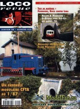 Loco-Revue №610 (January 1998)