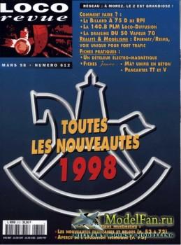 Loco-Revue №612 (March 1998)