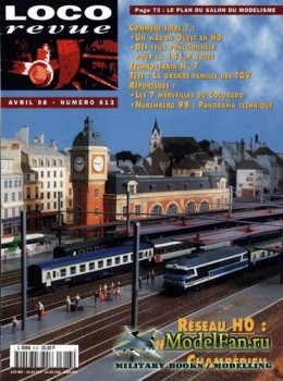 Loco-Revue №613 (April 1998)