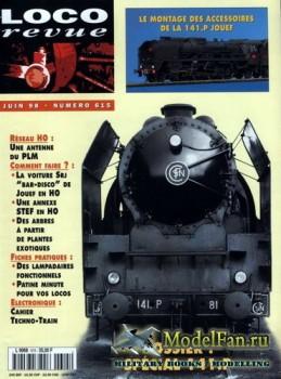 Loco-Revue №615 (June 1998)