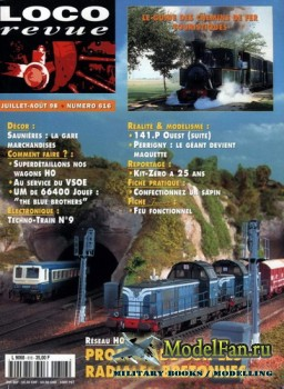 Loco-Revue №616 (July-August 1998)