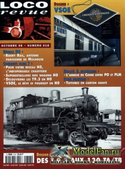 Loco-Revue №618 (October 1998)