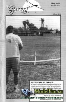 Radio Controlled Soaring Digest Vol.12 No.5 (May 1995)