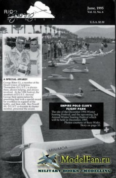 Radio Controlled Soaring Digest Vol.12 No.6 (June 1995)