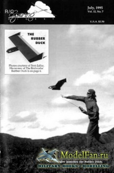 Radio Controlled Soaring Digest Vol.12 No.7 (July 1995)