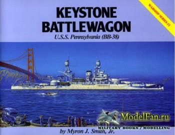 Warship Series #2 - Keystone Battlewagon: U.S.S. Pennsylvania (BB-38)