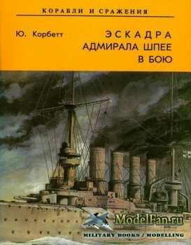 Эскадра адмрала Шпее в бою (Ю. Корбет)
