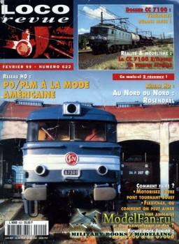 Loco-Revue №622 (February 1999)
