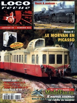 Loco-Revue №621 (January 1999)