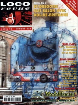 Loco-Revue №624 (April 1999)
