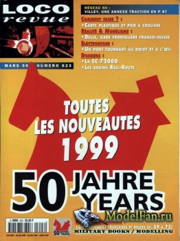 Loco-Revue №623 (March  1999)