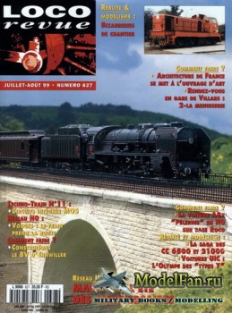 Loco-Revue №627 (July-August 1999)