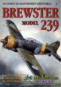 Suomen Ilmavoimien Historia №1 - Brewster model 239