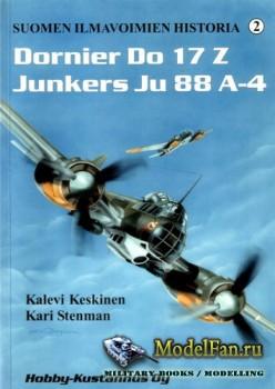 Suomen Ilmavoimien Historia №2 - Dornier Do 17Z & Junkers Ju 88A-4