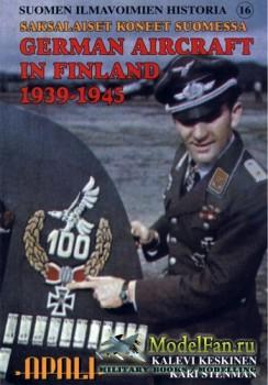 Suomen Ilmavoimien Historia №16 - Saksalaiset Koneet Suomessa: German aircr ...