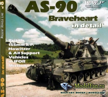 WWP Present Vehicle Line №8 - AS-90 Braveheart in Detail: British 155mm S.P ...