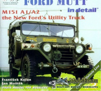 WWP Present Vehicle Line №2 - Ford Mutt in Detail: M151 A1/A2 the New Ford ...