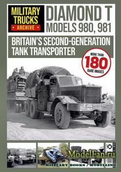 Military Trucks Archive №3 - Diamond T Models 980, 981