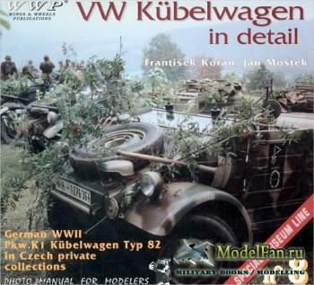 WWP Special Museum Line №8 - VW Kübelwagen in Detail