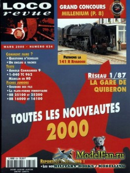 Loco-Revue №634 (March 2000)