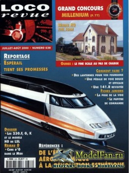 Loco-Revue №638 (July-August 2000)