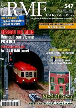 RMF Rail Miniature Flash 547 (February 2011)