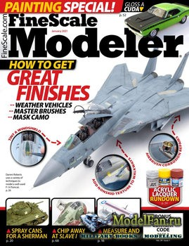 FineScale Modeler Vol.39 №1 (January 2021)