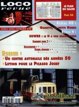 Loco-Revue №646 (April 2001)