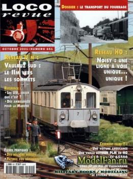 Loco-Revue №651 (October 2001)