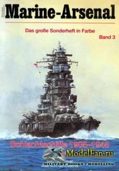 Marine-Arsenal - Sonderheft Band 3 - Schlachtschiffe 1905-1945 in Farbe