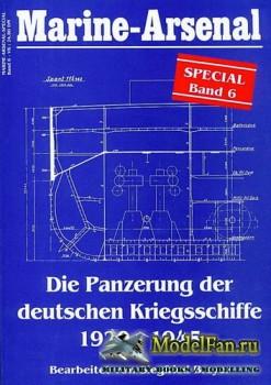 Marine-Arsenal - Special Band 6 - Die Panzerung der deutschen Kriegsschiffe ...
