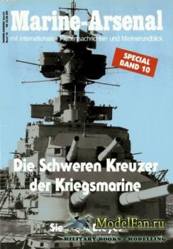 Marine-Arsenal - Special Band 10 - Die schweren Kreuzer der Kriegsmarine
