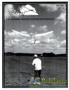 Radio Controlled Soaring Digest Vol.15 No.7 (July 1998)