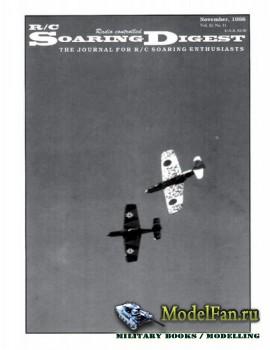 Radio Controlled Soaring Digest Vol.15 No.11 (November 1998)