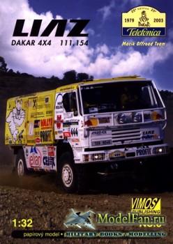 VIMOS Publishing №6 - Liaz 111.154 4x4 (Dakar 2003)