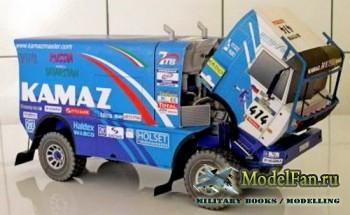 VIMOS Publishing №8 - Kamaz 4911 Extreme (Dakar 2004)