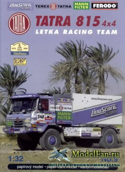 VIMOS Publishing №9 - Tatra 815 4x4 Letka Racing Team (Dakar 2005)