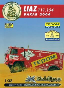 VIMOS Publishing №10 - Liaz 111.154 (Dakar 2006)