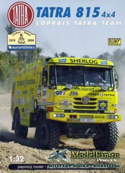 VIMOS Publishing №11 - Tatra 815 4x4 Loprais Team (Dakar 2006)