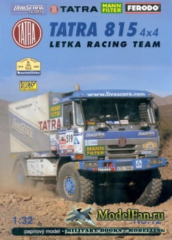 VIMOS Publishing №12 - Tatra 815 4x4 Letka Racing Team (Dakar 2007)