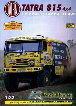 VIMOS Publishing №13 - Tatra 815 4x4 Loprais Team (2008)